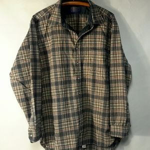 Vintage Pendleton wool Flannel Shirt